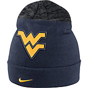 Nike Men's West Virginia Mountaineers Blue/Grey Sideline Beanie