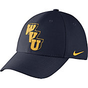 Nike Men's West Virginia Mountaineers Blue Vault Dri-FIT Swoosh Flex Hat