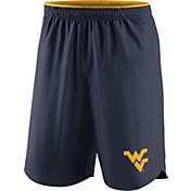 Nike Men's West Virginia Mountaineers Blue Vapor Football Performance Shorts
