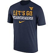 Nike Men's West Virginia Mountaineers Blue Ignite Verbiage Legend T-Shirt