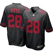 Nike Men's Alternate Game Jersey San Francisco 49ers Carlos Hyde #28