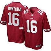 Nike Men's Home Game Jersey San Francisco 49ers Joe Montana #16