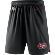 Nike Men's San Francisco 49ers Dry Knit Black Performance Shorts