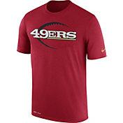Nike Men's San Francisco 49ers Legend Icon Performance Red T-Shirt