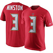 Nike Men's Tampa Bay Buccaneers Jameis Winston #3 Pride Red T-Shirt
