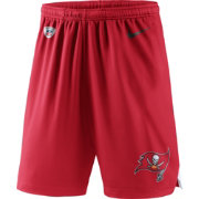 Nike Men's Tampa Bay Buccaneers Dry Knit Red Performance Shorts