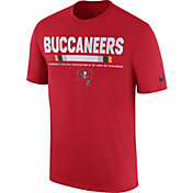 Nike Men's Tampa Bay Buccaneers Sideline 2017 Legend Staff Performance Red T-Shirt