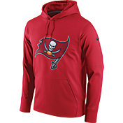 Nike Men's Tampa Bay Buccaneers Performance Circuit Logo Essential Red Hoodie