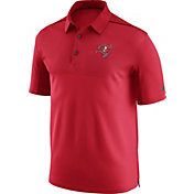 Nike Men's Tampa Bay Buccaneers Sideline 2017 Elite Coaches Red Polo