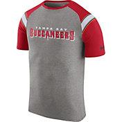 Nike Men's Tampa Bay Buccaneers Enzyme Shoulder Stripe T-Shirt