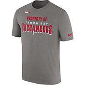 Nike Men's Tampa Bay Buccaneers Property Of Grey T-Shirt