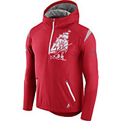 Nike Men's Tampa Bay Buccaneers Sideline 2017 Fly Rush Red Lightweight Jacket