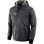 Nike Men's Tampa Bay Buccaneers Salute to Service 2016 Anthracite Pullover Hoodie