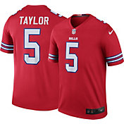 Nike Men's Color Rush Buffalo Bills Tyrod Taylor #5 Legend Jersey