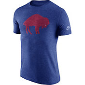 Nike Men's Buffalo Bills Tri-Blend Historic Logo Royal T-Shirt