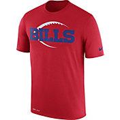 Nike Men's Buffalo Bills Legend Football Icon Performance Red T-Shirt