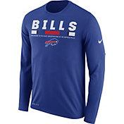 Nike Men's Buffalo Bills Legend Staff Royal Long Sleeve Performance Shirt