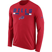 Nike Men's Buffalo Bills Legend Staff Red Long Sleeve Shirt