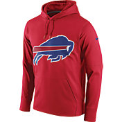 Nike Men's Buffalo Bills Performance Circuit Logo Essential Red Hoodie