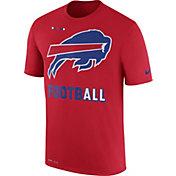 Nike Men's Buffalo Bills Sideline 2017 Legend Football Performance Red T-Shirt