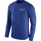 Nike Men's Buffalo Bills Sideline 2017 Modern Crew Royal Long Sleeve Top