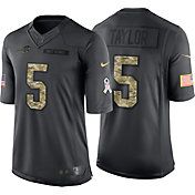 Nike Men's Home Limited Jersey Buffalo Bills Tyrod Taylor #5 Salute to Service 2016
