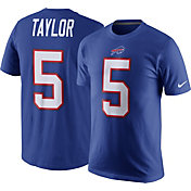 Nike Men's Buffalo Bills Tyrod Taylor #5 Pride Royal T-Shirt