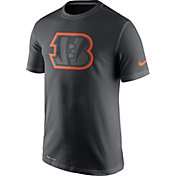 Nike Men's Cincinnati Bengals Travel Reflective Anthracite T-Shirt