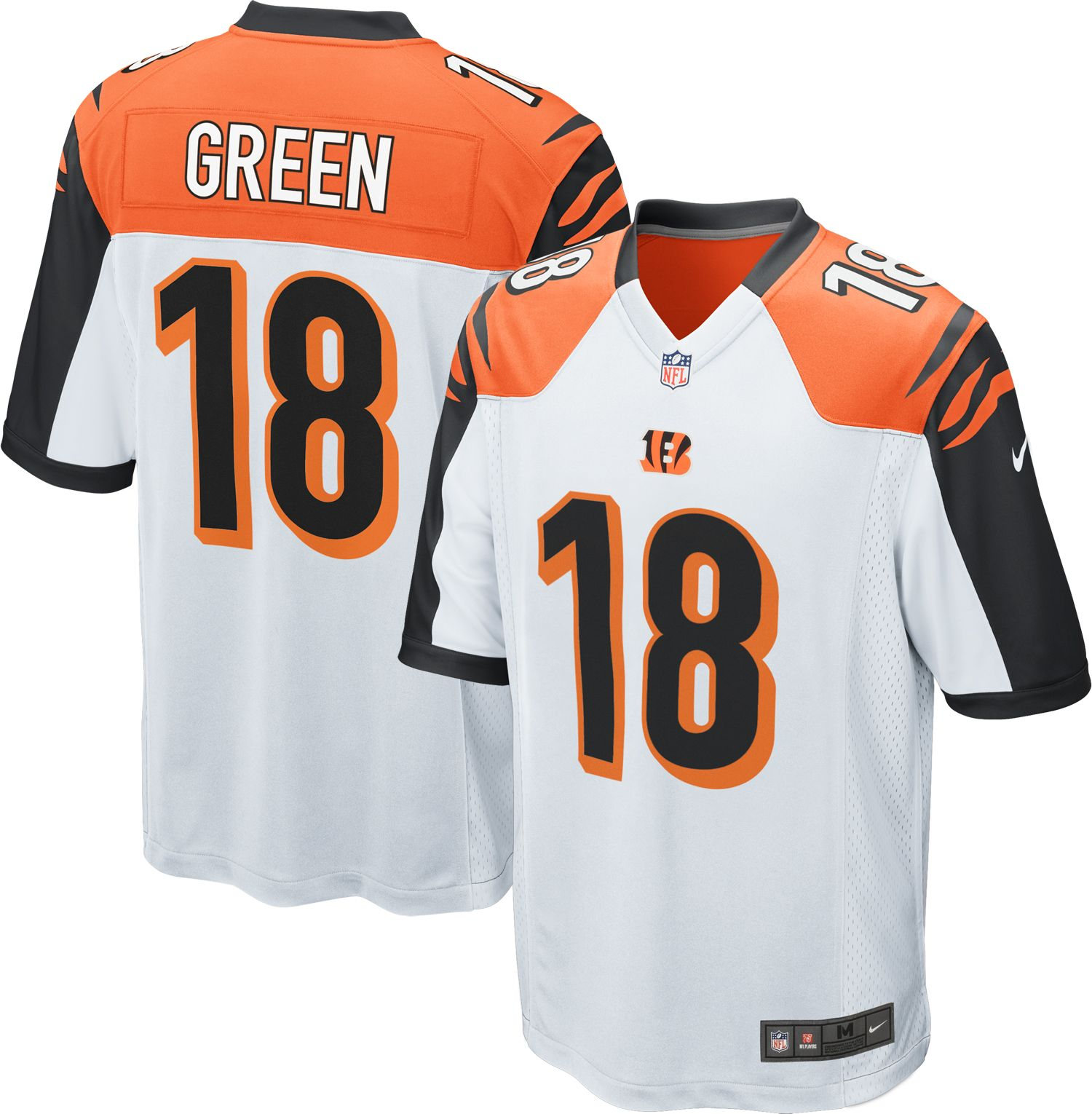 aj green color rush jersey youth