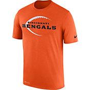 Nike Men's Cincinnati Bengals Legend Football Icon Performance Orange T-Shirt