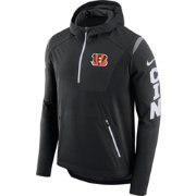 Nike Men's Cincinnati Bengals Sideline 2017 Alpha Fly Black Jacket
