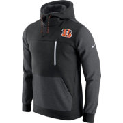 Nike Men's Cincinnati Bengals AV15 Fleece Black Pullover Hoodie