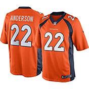 Nike Men's Home Limited Denver Broncos C.J. Anderson #22 Jersey