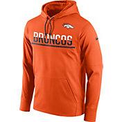 Nike Men's Denver Broncos Sideline 2016 Circuit Orange Pullover Hoodie