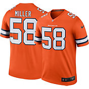 Nike Men's Color Rush Denver Broncos Von Miller #58 Legend Jersey Shirt