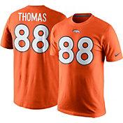 Nike Men's Denver Broncos Demaryius Thomas #88 Pride Orange T-Shirt