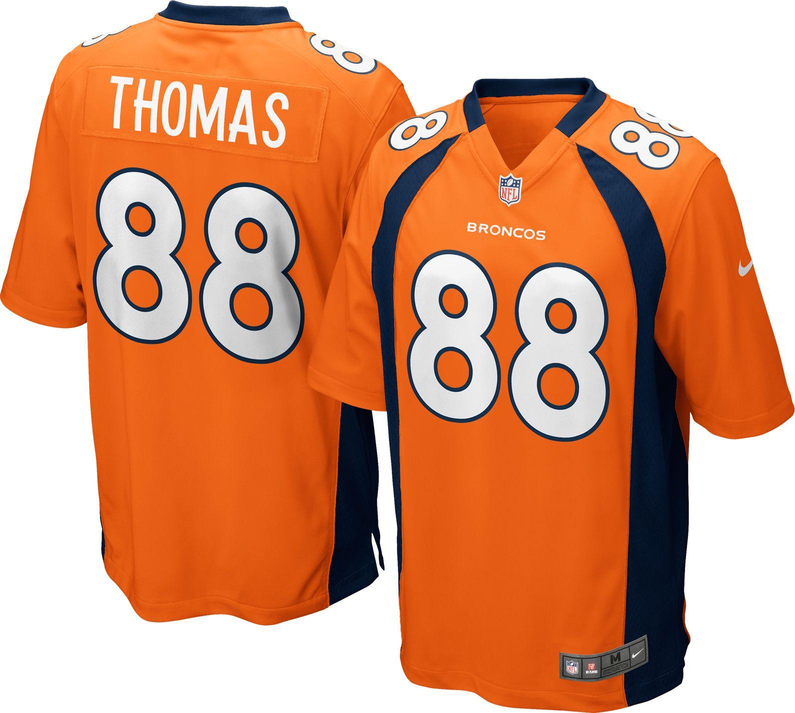 Nike Men s Home Game Jersey Denver Broncos Demaryius Thomas 88