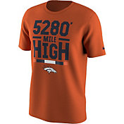 Nike Men's Denver Broncos Local Verbiage Orange T-Shirt