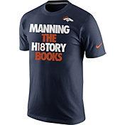 Nike Men's Denver Broncos Peyton Manning History Navy T-Shirt