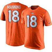 Nike Men's Denver Broncos Peyton Manning #18 Pride Orange T-Shirt