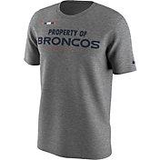 Nike Men's Denver Broncos Property Of Grey T-Shirt