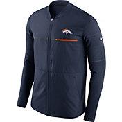 Nike Men's Denver Broncos Sideline 2017 Shield Hybrid Navy Jacket
