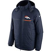 Nike Men's Denver Broncos Sideline Navy Puff Jacket