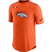Nike Men's Denver Broncos Sideline 2017 Player Orange Top