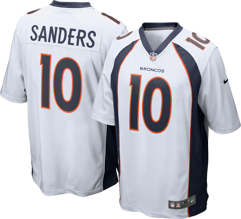 d1ff96f6b ... Jersey Nike Mens Away Game Denver Broncos Emmanuel Sanders 10 Jerse Mens  Denver Broncos Emmanuel Sanders Nike Orange Color Rush Legend ...