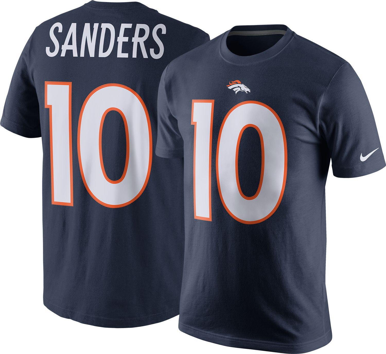479d26f8b3d ... Nike Mens Denver Broncos Emmanuel Sanders 10 Navy T-Shirt .. Nike Mens  Color Rush ...