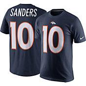 Nike Men's Denver Broncos Emmanuel Sanders #10 Navy T-Shirt
