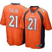Nike Men's Home Game Jersey Denver Broncos Aqib Talib #21