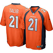 Nike Men's Home Game Jersey Denver Broncos Aqib Talib #21