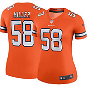 Nike Women's Color Rush Legend Jersey Shirt Denver Broncos Von Miller #58